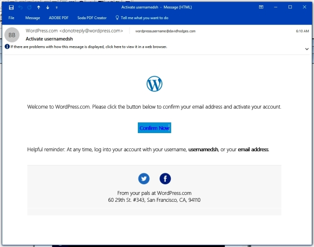 Wordpress Usename 4