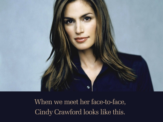 Cindy Crawford Face to Face