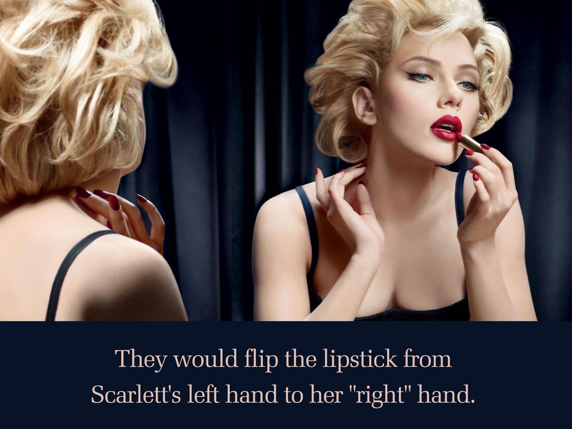 Scarlett Mirror Flipped Lipstick