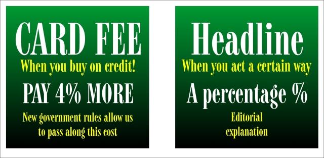 Card Fee